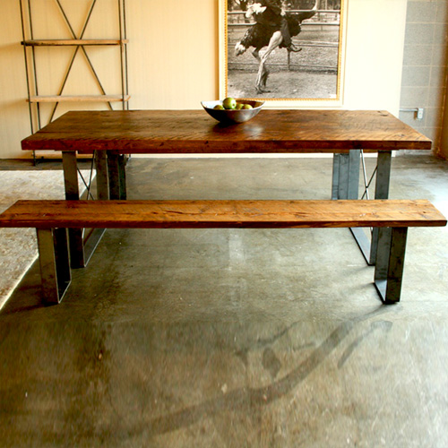 Railcar Dining Set by Croft House