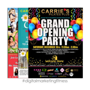 MARC FRANCOEUR DESIGN - Carrie's Pilates Plus Digital Marketing