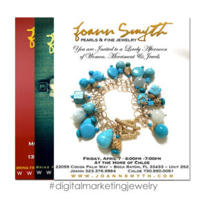 MARC FRANCOEUR DESIGN - Joann Smyth Jewelry Digital Marketing